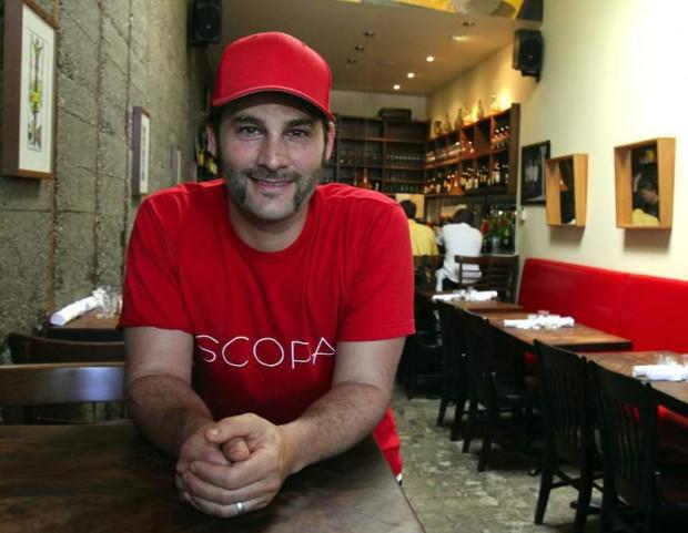 Ari Rosen of Scopa restaurant in Healdsburg