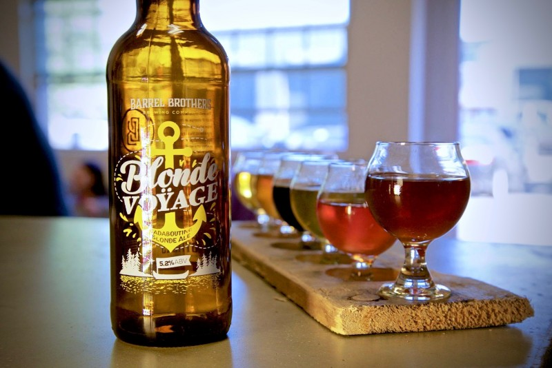 Barrel Brothers' Blonde Voyage