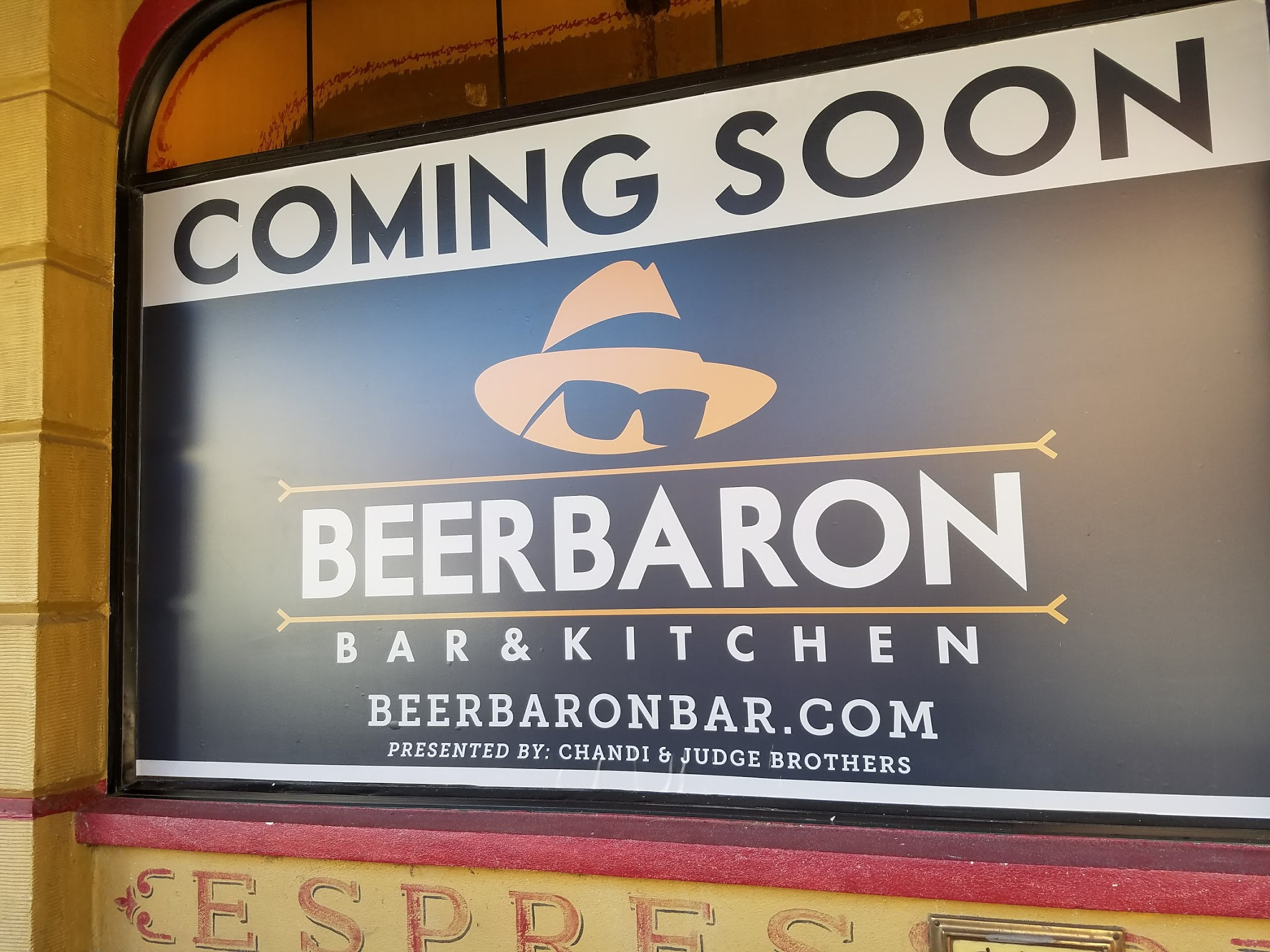 Beer Baron is coming soon to Santa Rosa