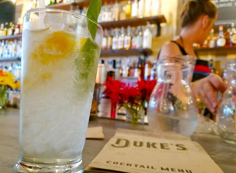 Belly up at Duke's Spirited Cocktails in Healdsburg.