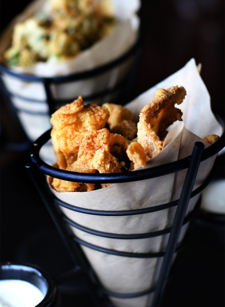 Chicken Chicharrones at Victory House restaurant at Epicenter in santa rosa. Heather Irwin/PD