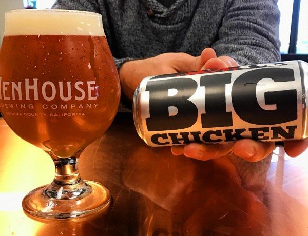 Henhouse BIG Chicken IPA Release TODAY. (Photo courtesy of HenHouse Brewing Facebook page)