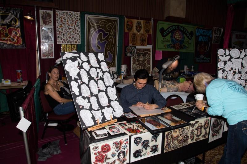 Tattoo & Blues Festival at the Flamingo Hotel in Santa Rosa.