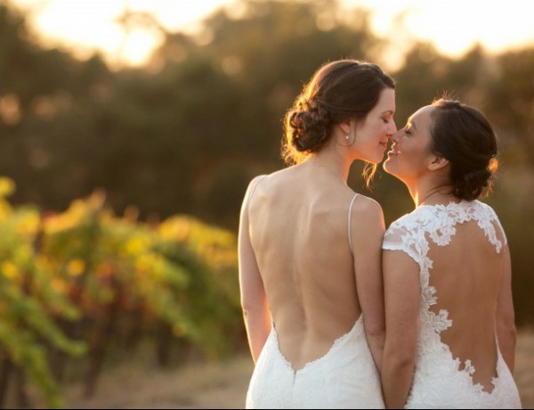 A Wine Country Wedding For Two College Sweethearts