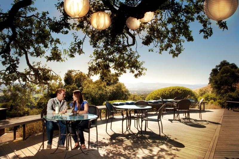 The patio tasting at Paradise Ridge makes it one of the most popular proposal spots in Wine Country (submitted photo)