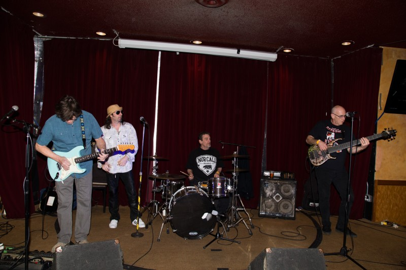 at the Tattoo & Blues Festival at the Flamingo Hotel in Santa Rosa.