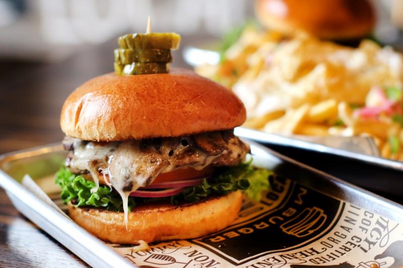 Slamburger in Petaluma. Shroomaluma. Heather Irwin/PD
