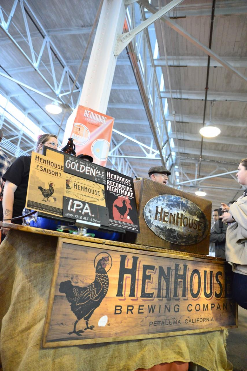 HenHouse Brewing brought their popular Saison and the IPA to share with beer lovers.