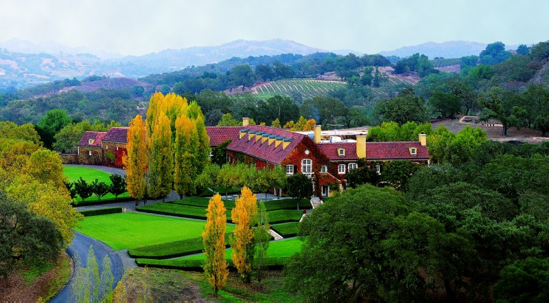Jordan Vineyard & Winery's chateau brings the romance of Bordeaux to Sonoma County (Photo courtesy of Jordan Vineyard & Winery)