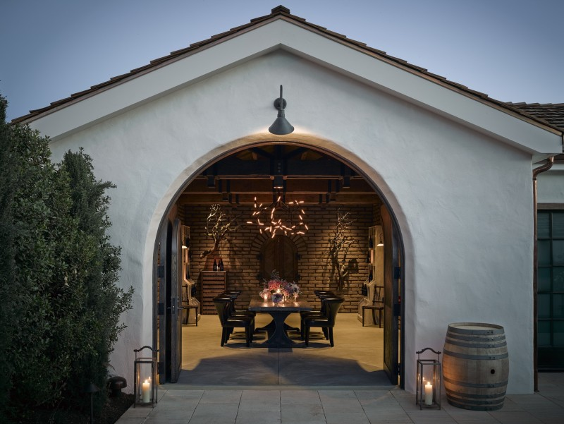 Three Sticks Wines offers romantic, intimate tastings at their historic adobe in downtown Sonoma (Photo: Ken Fulk)