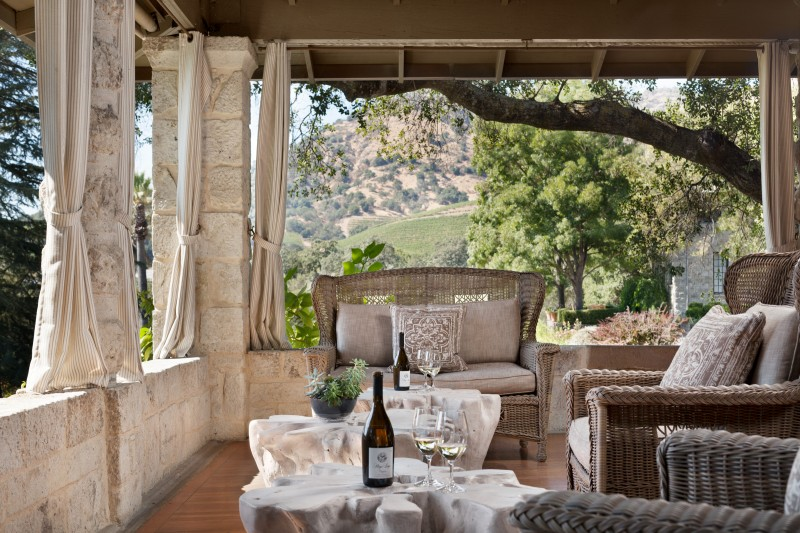 Charm and romance abounds at Stags' Leap, one of the oldest winery estates in California (Photo courtesy of Stags' Leap Winery)