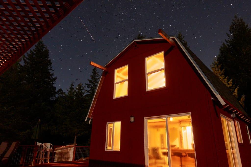 Cabin at Peek of Mt Veeder in Glen Ellen.