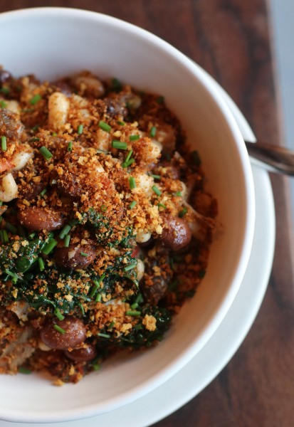 Duck cassoulet at Drawing Board restaurant in Petaluma. Heather Irwin/PD