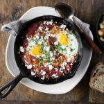 Shakshuka from the forthcoming Drawing Board restaurant in Petaluma. Photo: Molly DeCoudreaux