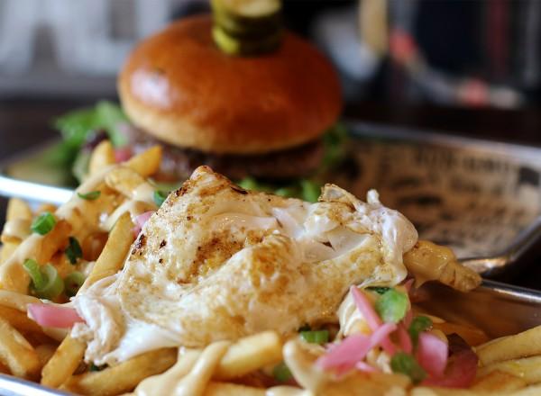 Slam Fries at Slamburger in Petaluma. Heather Irwin/PD