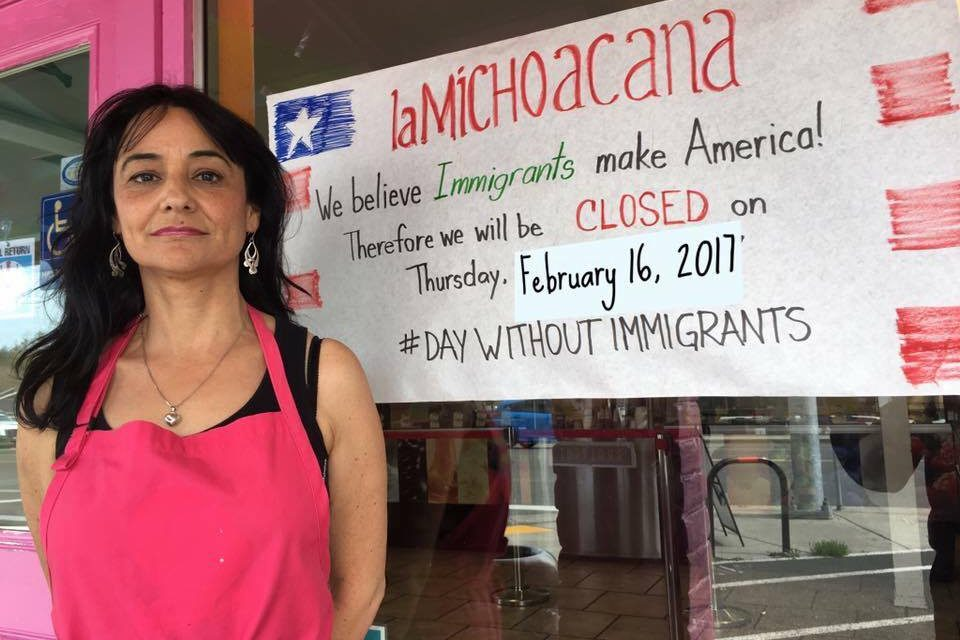 Why is your favorite restaurant closed today? #daywithoutimmigrants