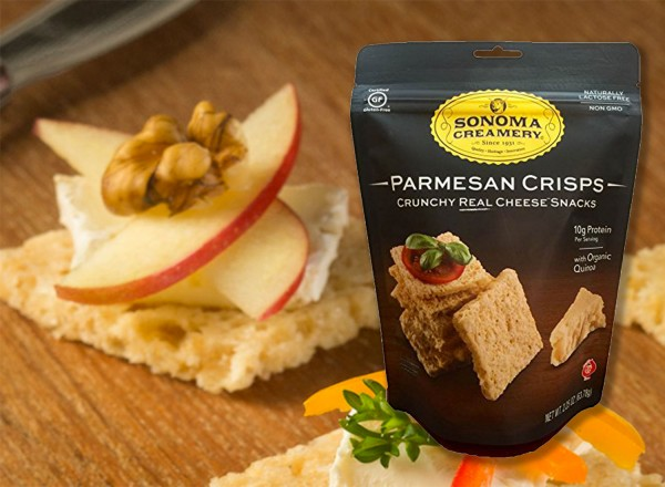 Parmesan Crisps from Sonoma Creamery