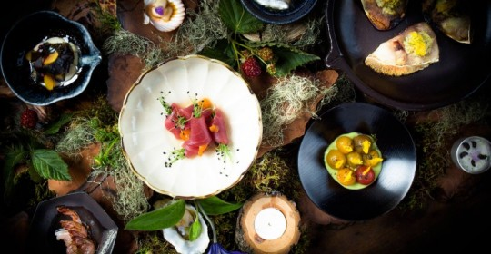 A selection of dishes at SingleThread  Farm-Restaurant-Inn in Healdsburg. (Photo courtesy of Single Thread)