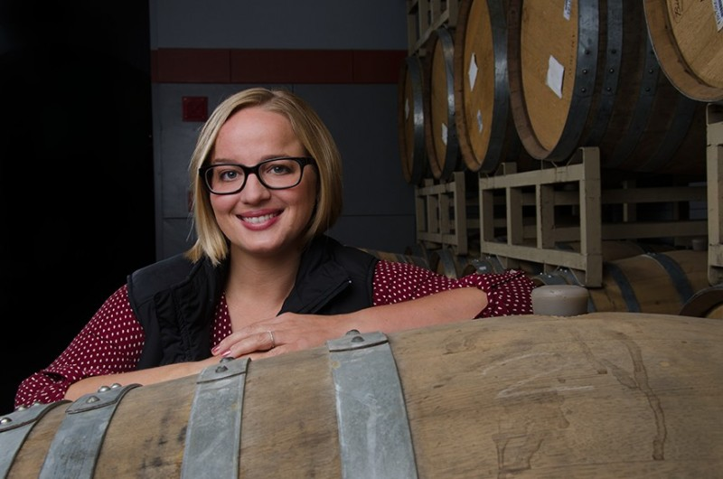 Amy Ludovissy, winemaker at Viansa Winery (Photo courtesy of Viansa Winery)