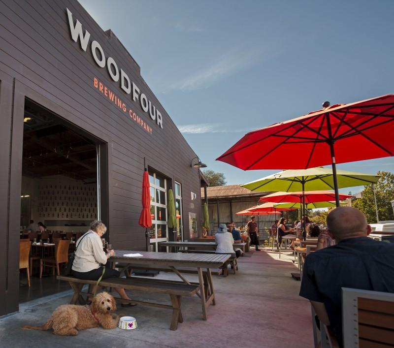 Woodfour Brewing at the Barlow in Sebastopol.