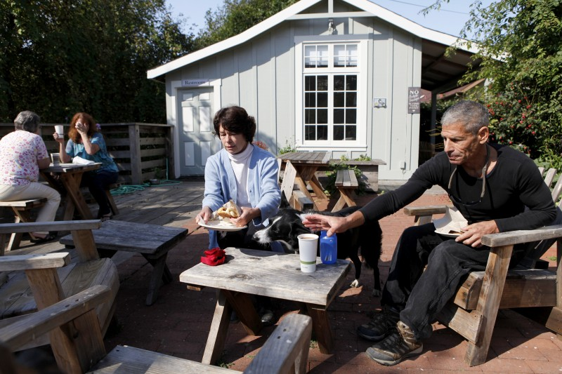 Gold Coast Coffee and Bakery in Duncans Mills, California on Tuesday, September 13, 2011. (BETH SCHLANKER/