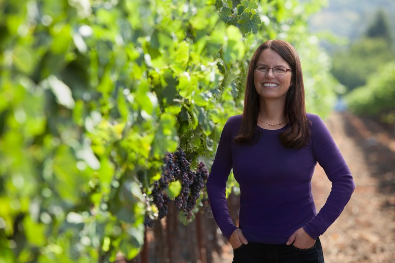 Margo Van Staaveren, winemaker at Chateau St. Jean (Photo courtesy of Chateau. St. Jean)