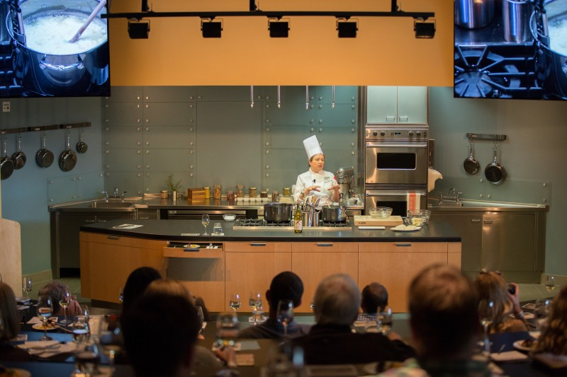 The newly opened CIA at Copia, in Napa, offers daily cooking classes for the food-loving public (Photo: Victor M. Samuel)