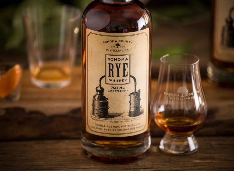 Sonoma County Rye from Sonoma Distilling Co.