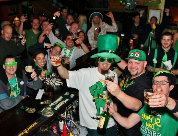 Sláinte! Stout Brothers in Santa Rosa celebrates St. Patrick's Day (Photo courtesy of Stout Brothers)