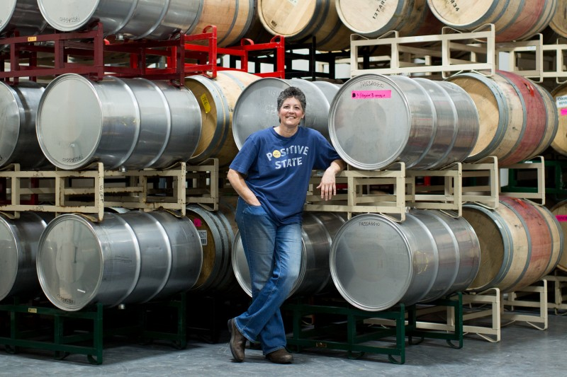 Cynthia Cosco, winemaker and proprietor of Passaggio Wines (Photo: Sarah Deragon Photography)