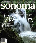 Sonoma Magazine Cover Mar/Apr 2017