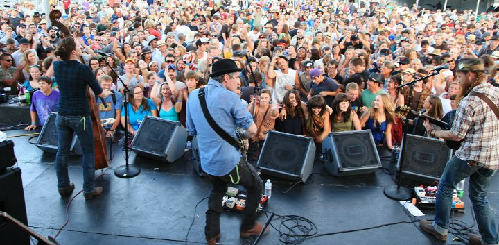 Rock For a Cause at The Petaluma Music Festival