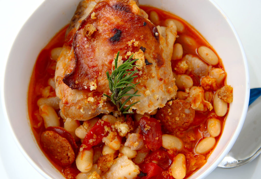 Cassoulet at Cocoa Planet in Sonoma. Heather Irwin/PD