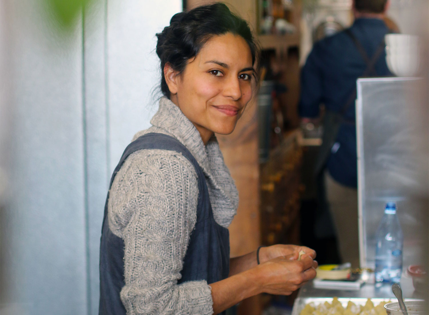 Chef/owner Dalia Martinez of Flower + Bone restaurant in Santa Rosa. Heather Irwin/Sonoma Magazine.