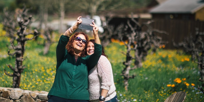 Get up close and personal with vineyards during Savor Sonoma Valley March 18 & 19 (Photo: Kim Carroll)