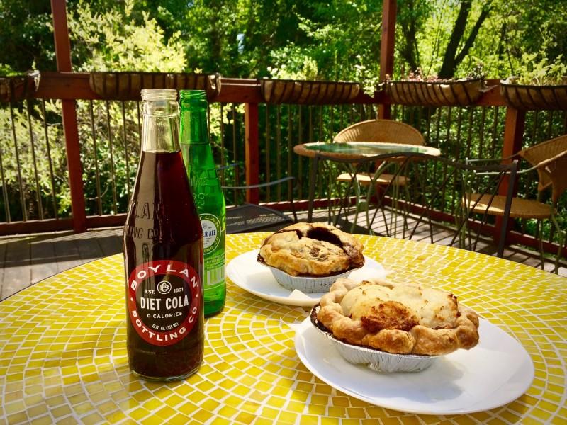 The Whole Pie patio in Santa Rosa. (Sofia Englund)