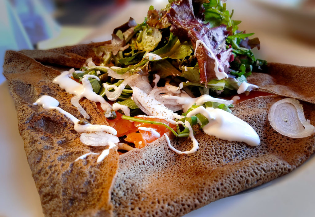 Buckwheat crepe at Bistro 29 in Santa Rosa. Heather Irwin/PD