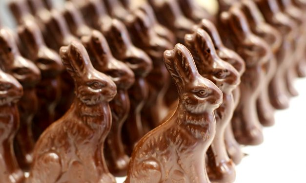 Tiny Windsor Chocolate Factory Creates a Chocolate Bunny Brigade