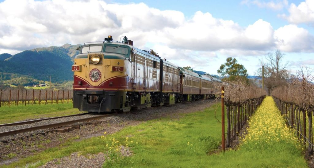 Napa Valley Wine Train Celebrates 30th Birthday with '80s-Themed Murder Mystery Party