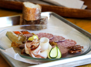 Charcuterie at Thistle Meats butcher shop in Petaluma. Heather Irwin/PD