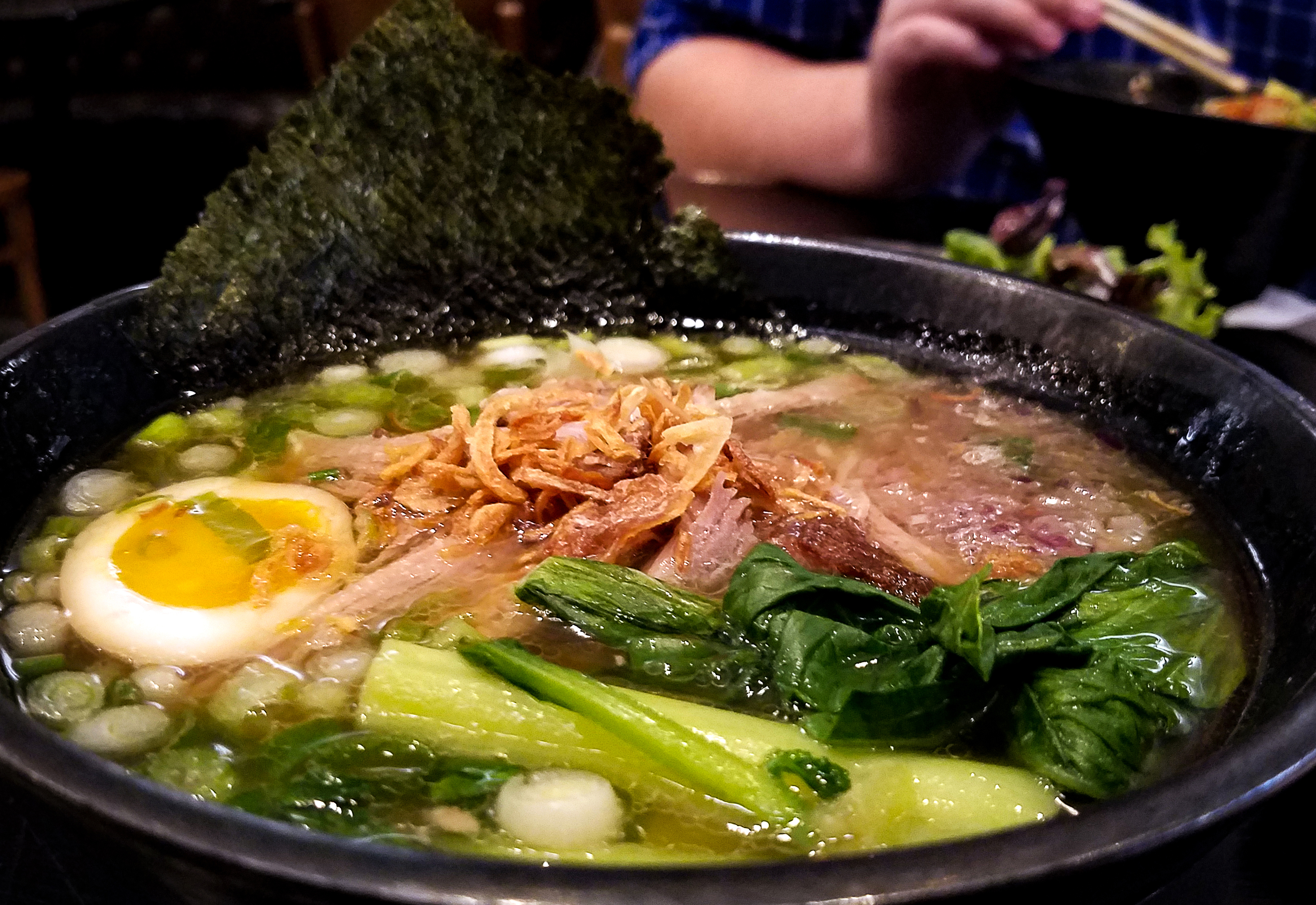 Tokyo Shoyu Chasu pork ramen at Miso Good Ramen in Snata Rosa. Heather Irwin/PD
