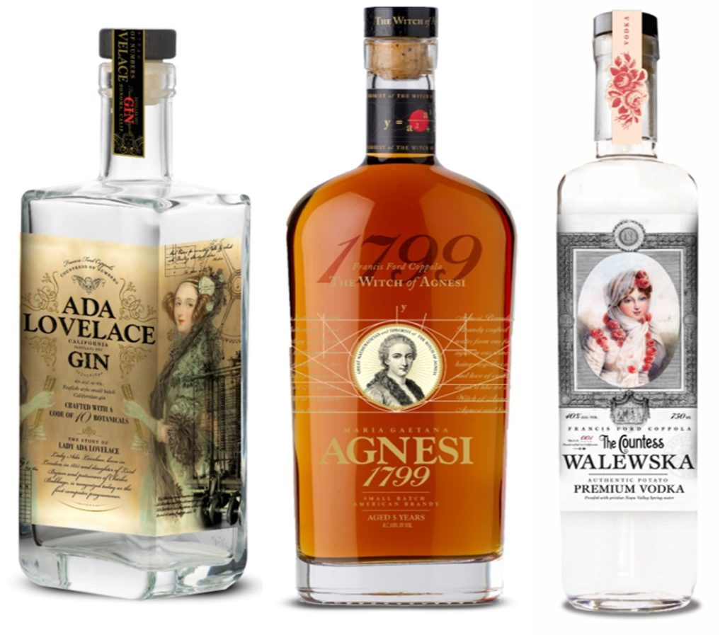 Coppola Family Launches Spirits Line Named After Historic Women