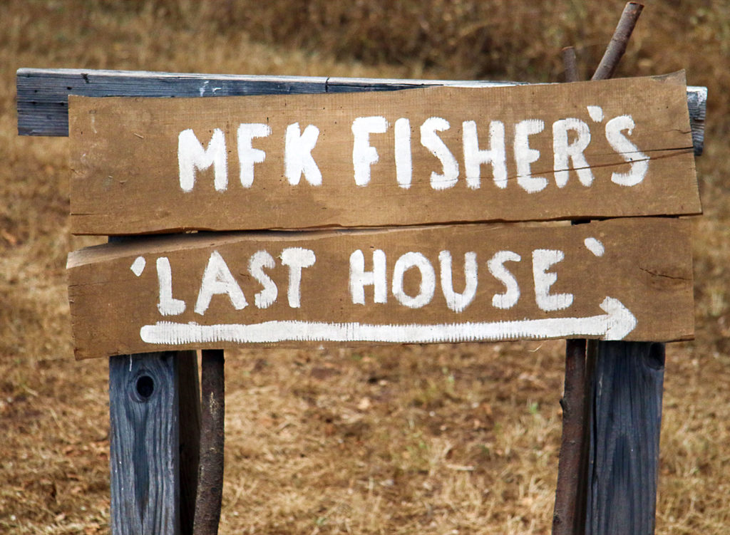 "Take a Tour of Author MFK Fisher's ""Last House"" in Sonoma"