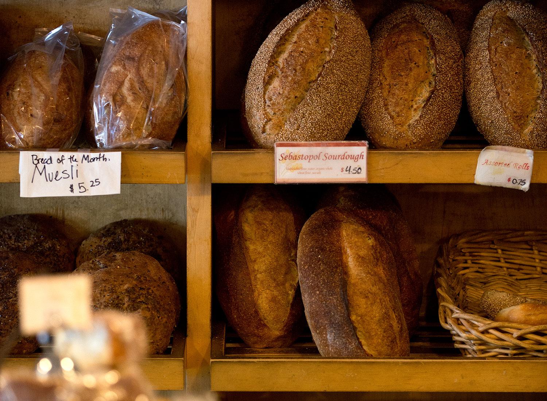 Village Bakery in Santa Rosa. Alvin Jornada
