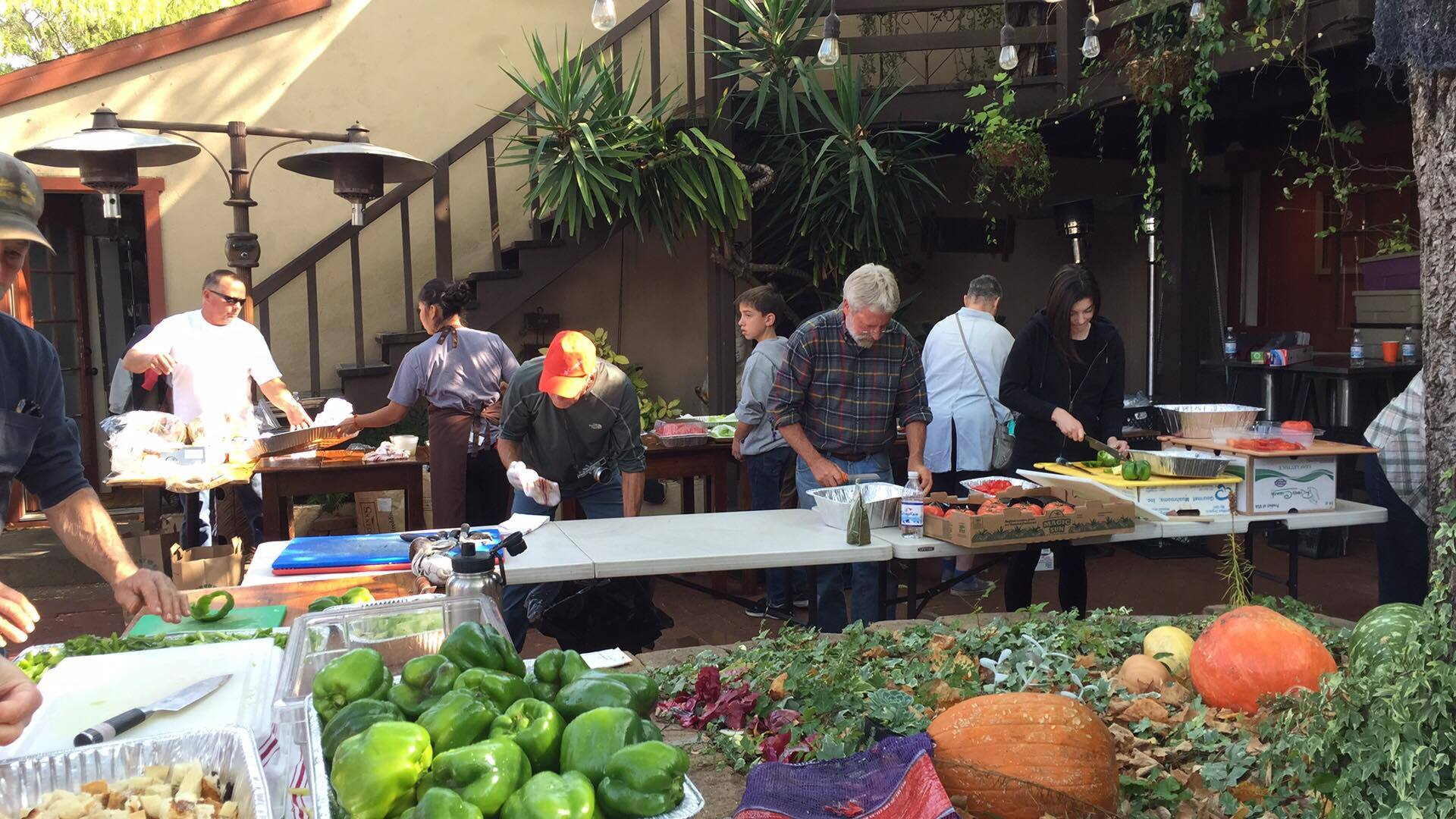 sonoma restaurants a calm in the firestorm