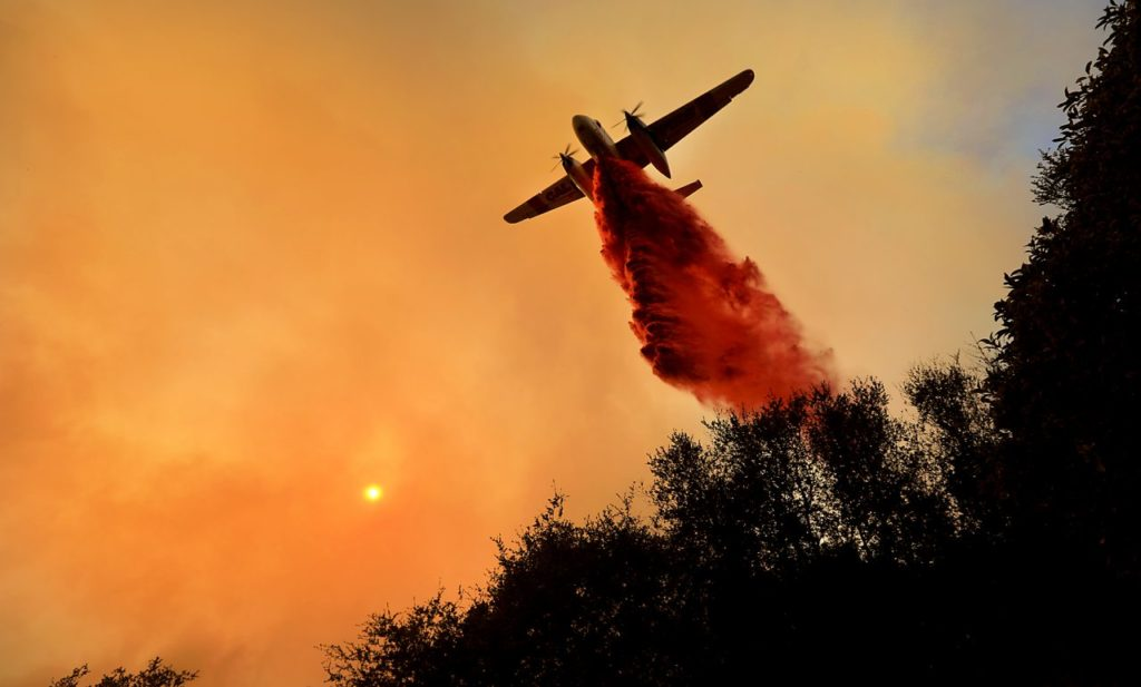 Sonoma County Fires in 40 Photos