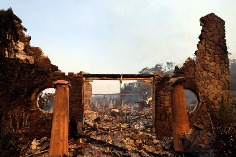 Before & After: Sonoma & Napa Wineries, Restaurants, Landmarks Damaged or Destroyed by The North Bay Fires