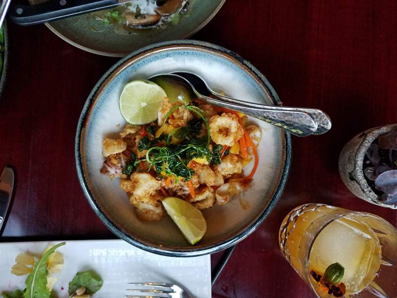 Global Flavors at Kitchen 335 in Healdsburg