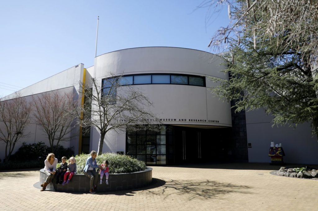 schulz museum and luther burbank center reopen after santa rosa fire. Black Bedroom Furniture Sets. Home Design Ideas