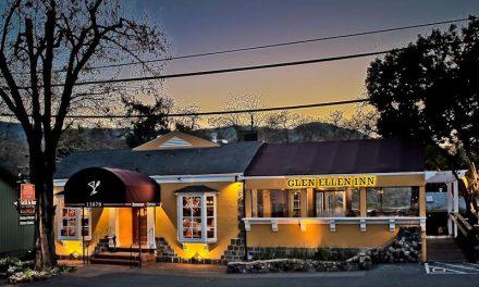 Glen Ellen Inn Oyster Grill & Martini Bar Stands After Fires